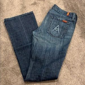 Womens 7 for all Mankind Jeans Size 30